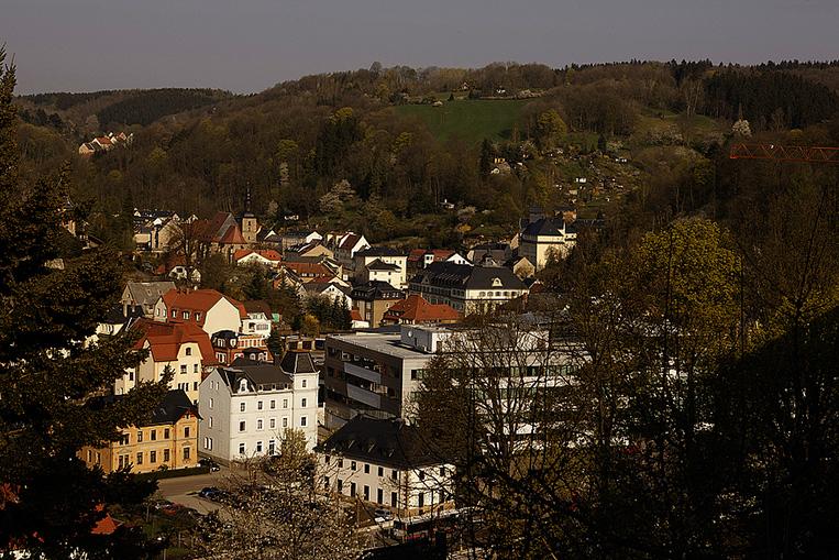 Glashutte town