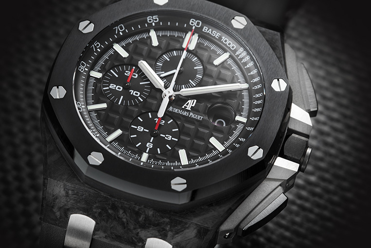 Audemars Piguet carbon watch