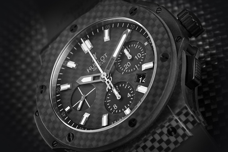 Hublot carbon watch