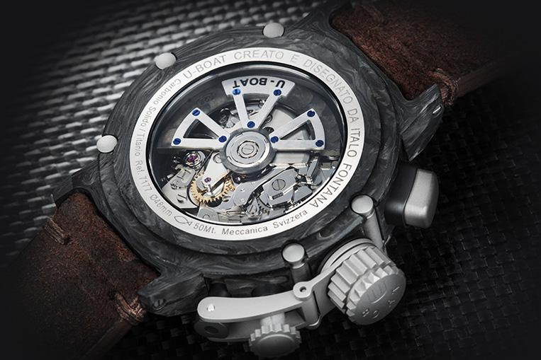 U Boat carbon watch