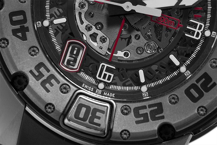Richard Mille RM028 closeup