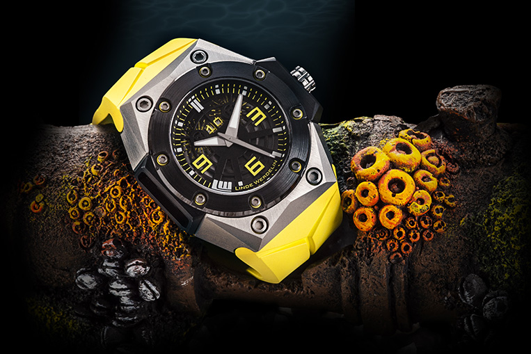 Linde Werdelin Oktopus II Titanium Yellow