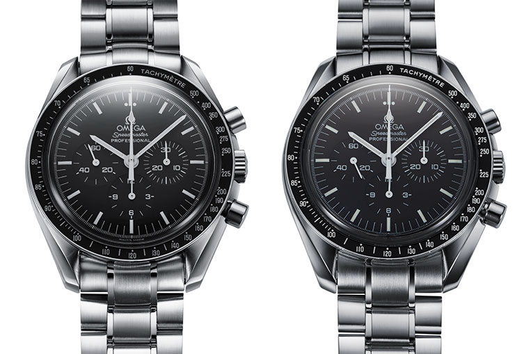 Two Omega Speedmasters, but which one is better?