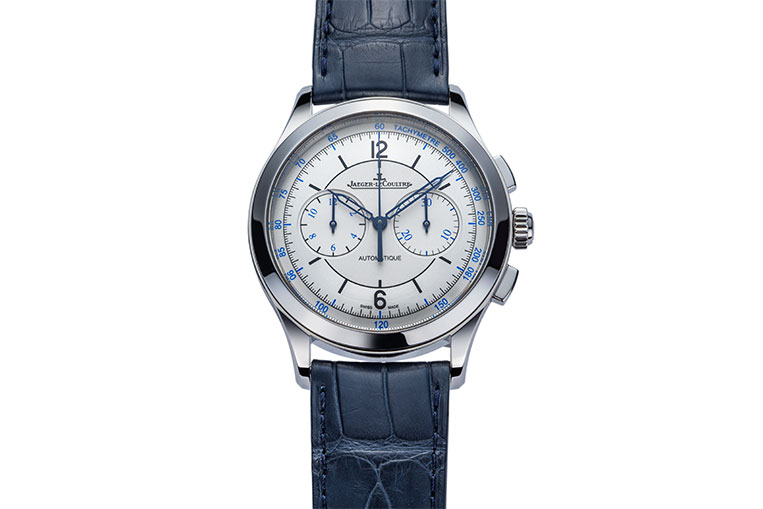 The Master Chronograph from Jaeger-LeCoultre takes inspiration from vintage sector dial watches