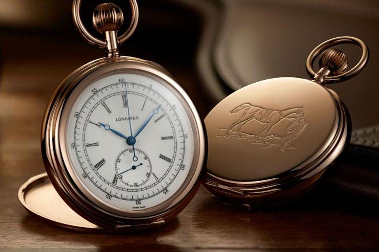 Longines Equestrian Pocket Watch Chronograph