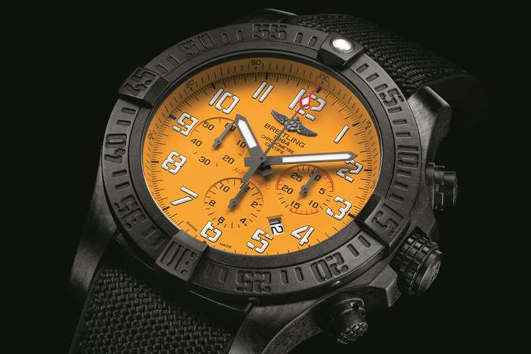 Breitling Avenger Hurricane 12H yellow