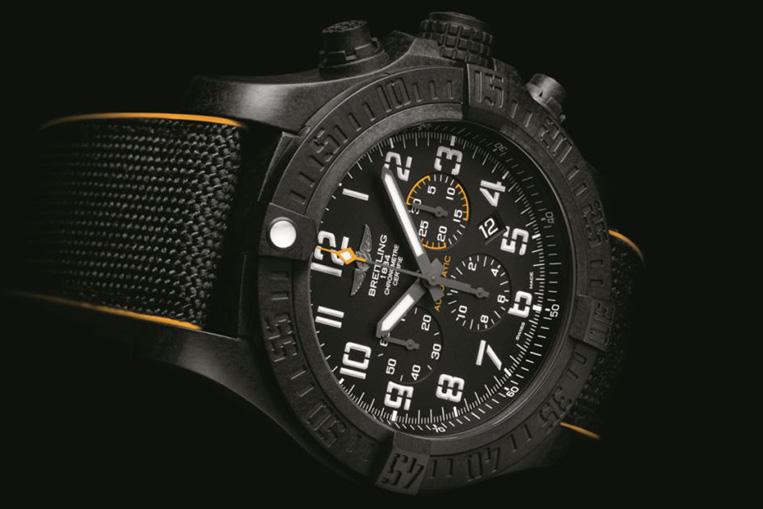 Breitling Avenger Hurricane 12H black