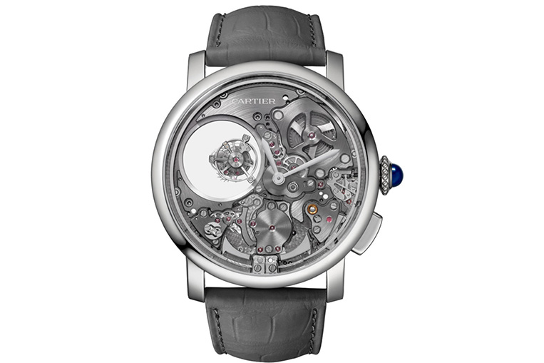 Cartier Rotonde Minute Repeater Mysterious Double Tourbillon