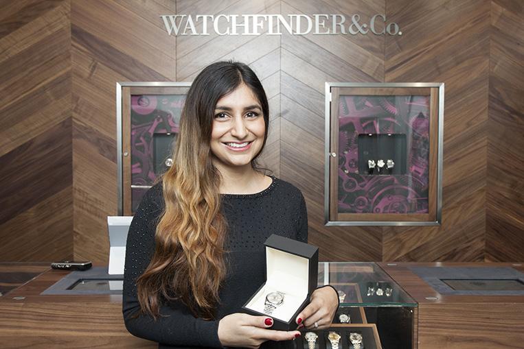 Dr. Rupal Patel shows off her Rolex Datejust