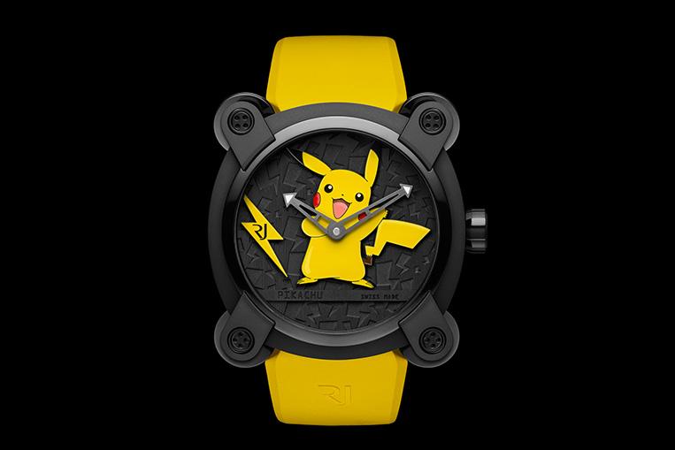 RJ-Romain Jerome Pokemon Pikachu Watch
