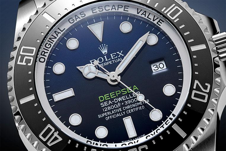 Review Rolex Deepsea D Blue Watchfinder Amp Co