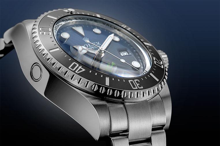 Rolex Deepsea D-Blue bezel