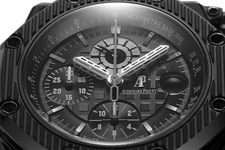 Audemars Piguet Royal Oak Offshore Survivor Chronograph dial