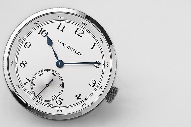 Hamilton Khaki Navy Pioneer Limited Edition dial