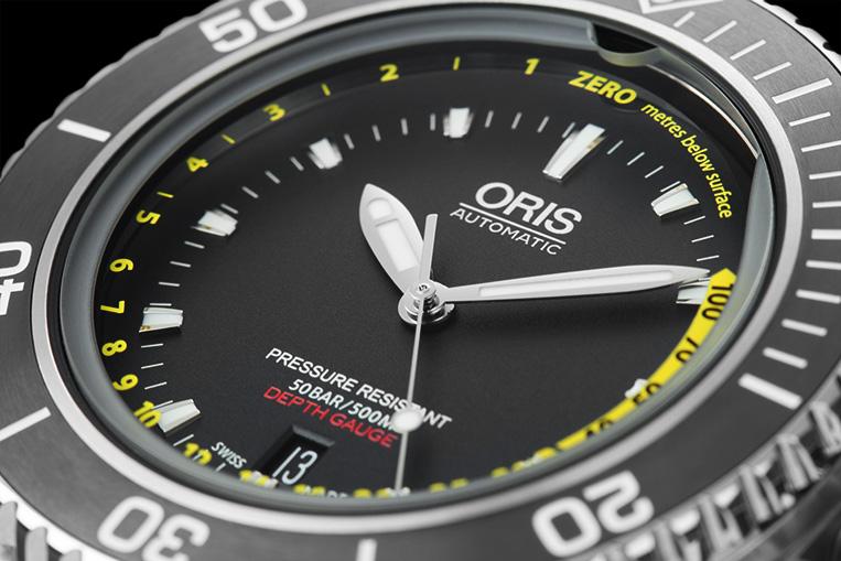 Fantastic Review Oris Aquis Depth Gauge  Watchfinder Amp Co