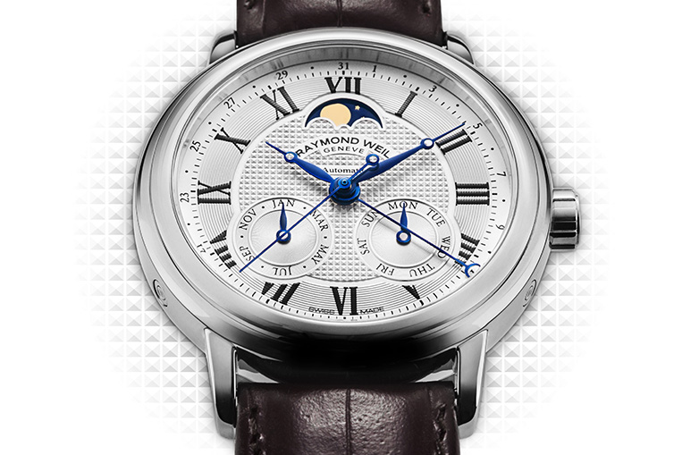 Raymond Weil Maestro Automatic Moon Phase front