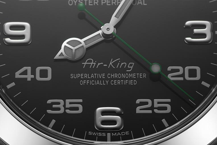 Rolex Air-King 116900 dial