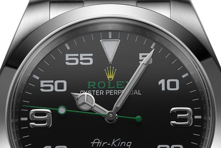 Rolex Air-King 116900 crown