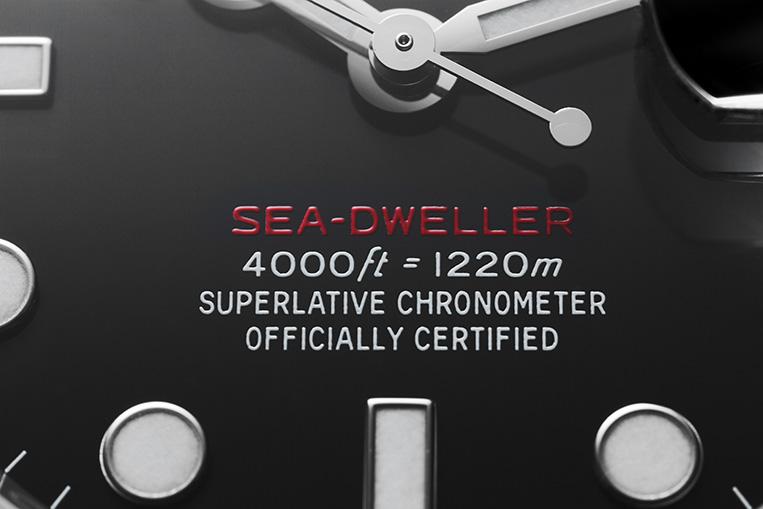 Rolex Sea-Dweller 126600 dial