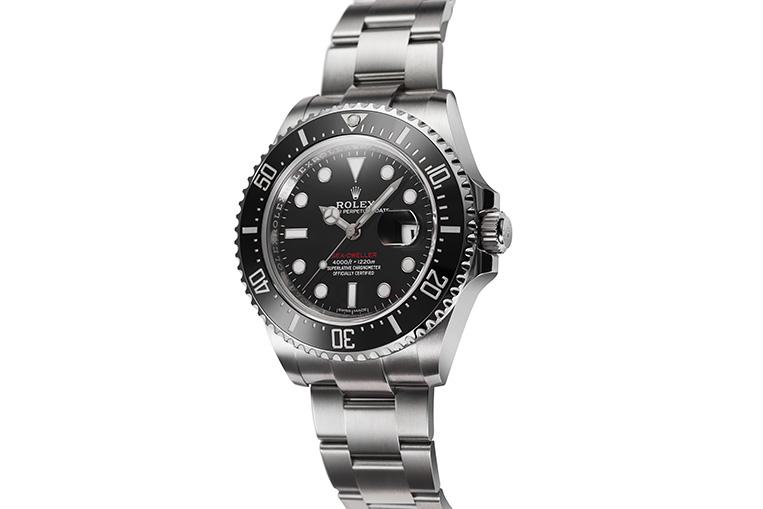 Rolex Sea-Dweller 126600 side