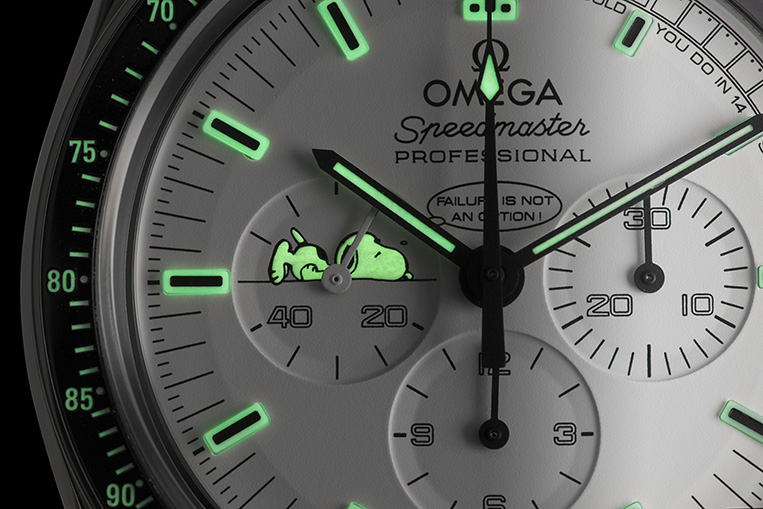 Omega Snoopy Dial