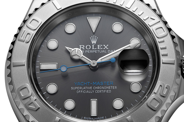 Rolex Yacht-Master 116622 close up
