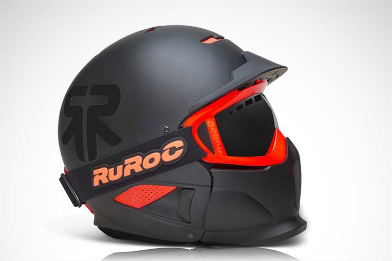 RuRoc RG1-X Black Nova Helmet