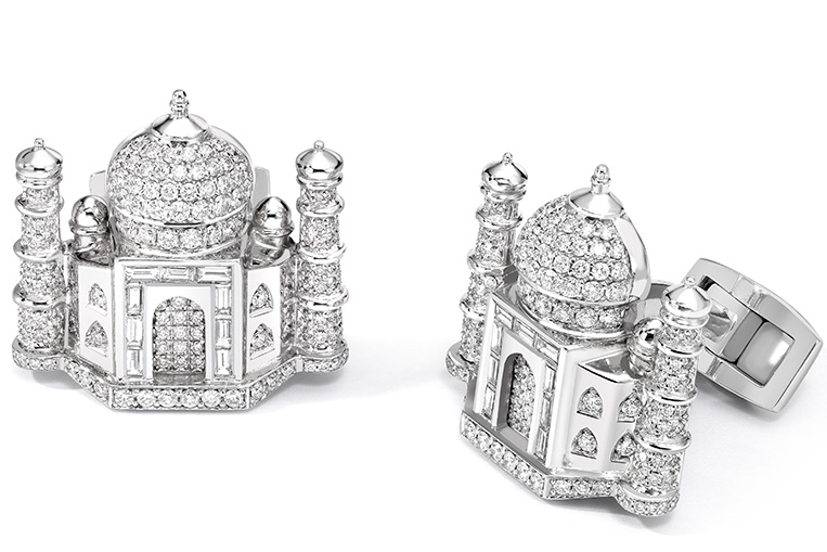 David Marshall Taj Mahal Cufflinks