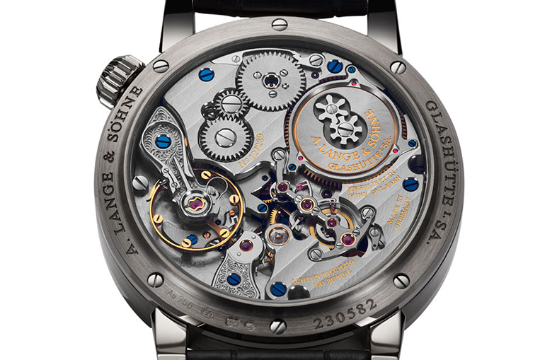 The unusual dial needs an unusual movement