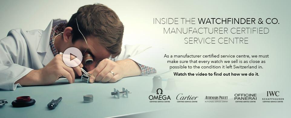 Service centre video banner